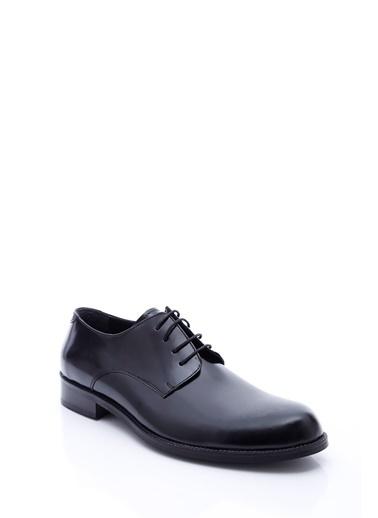 Wessi %100 Deri Bağcıklı Klasik Ayakkabı Siyah